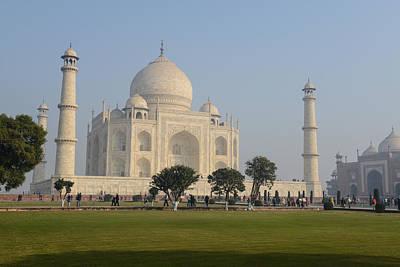 Taj Mahal Print by Brandon Bourdages