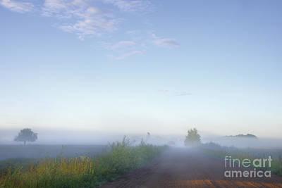 Alberta Prairie Landscape Photograph - Take A Deep Breath by Dan Jurak