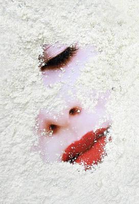 Woman Photograph - Take A Powder by Skip Hunt