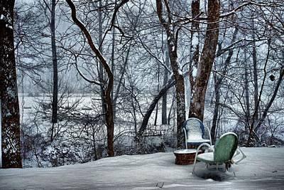 Take A Seat Print by Carol R Montoya