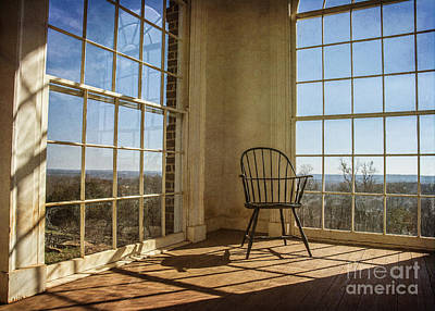 Contemplating Photograph - Take A Seat by Terry Rowe