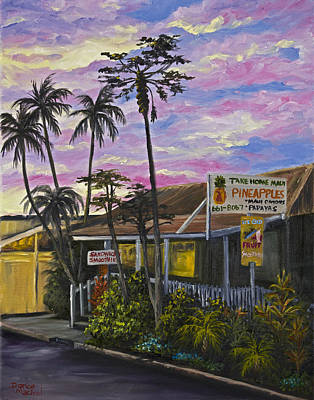 Historic Buildings Painting - Take Home Maui by Darice Machel McGuire