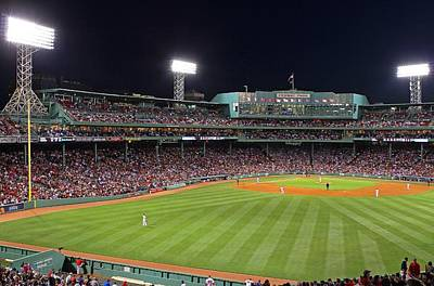 Boston Red Sox Photograph - Take Me Out To The Ballgame by Juergen Roth