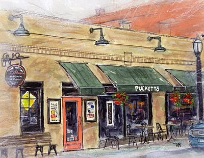 Pucketts Painting - Take Me To Pucketts by Tim Ross