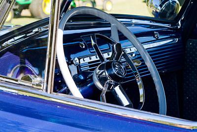 Take The Wheel Print by Bernard  Barcos