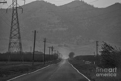 Takin' The Back Road Print by Mitch Shindelbower