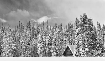 Taking Refuge - Grand Teton Print by Sandra Bronstein