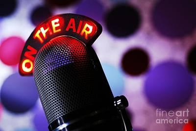 Talk Radio Print by Jonas Luis