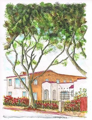Tall Tree In West Hollywood - California Original by Carlos G Groppa
