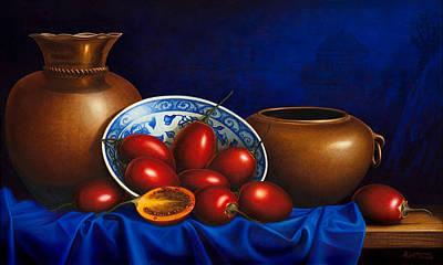 Tamarillos Original by Horacio Cardozo