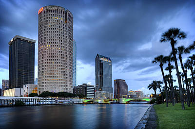 Tampa 1 Print by Al Hurley