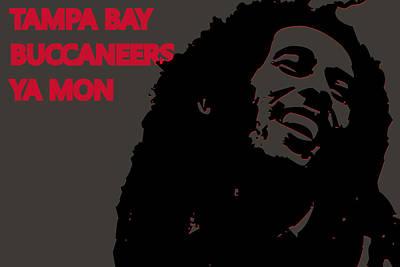 Drum Photograph - Tampa Bay Buccaneers Ya Mon by Joe Hamilton