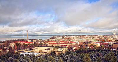 Finland Photograph - Tampere by Jaroslavas Macko