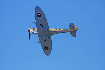 Spitfire Photograph - Tandem Supermarine Spitfire Trainer  - by David Wall