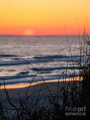 Tangerine Sunrise Print by Doug Sturgess
