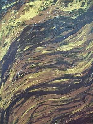 Tangled Wood Original by Laurette Escobar