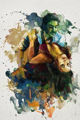 Strength Painting - Tango 7b by Maryam Mughal