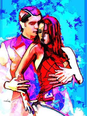 Tango Argentino - Love And Passion Print by Reno Graf von Buckenberg