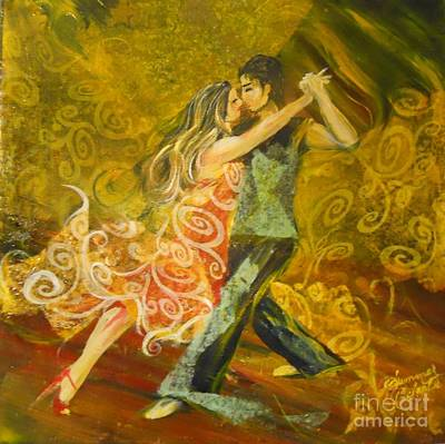 Painting - Tango Flow by Summer Celeste