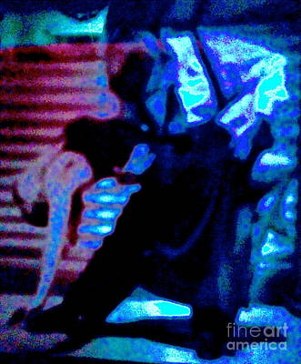 Tango In Argentina Abstract Original by Diane Phelps