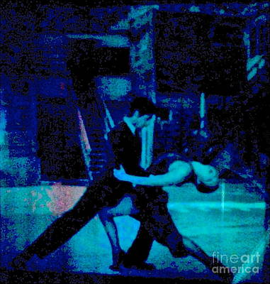 Tango In Blue Too Original by Diane Phelps