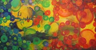 Tantra Painting - Tantra Chakra by Monike Du Bleu
