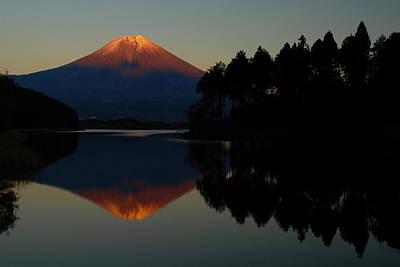 Fuji Photograph - Tanukiko Fuji by Aaron S Bedell