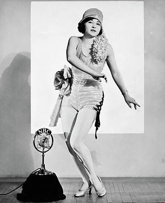 Tap Dancing On Nbc Radio Print by Underwood Archives
