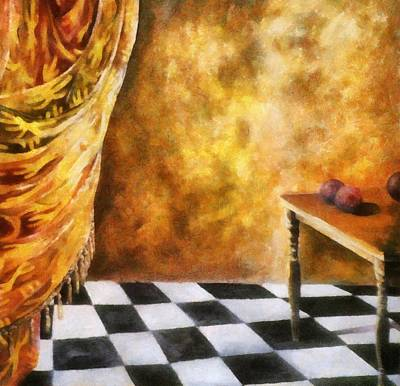 Tassel Digital Art - Tapestry by Michelle Calkins