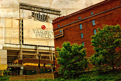 Target Field Home Of The Minnesota Twins Print by Susan Stone
