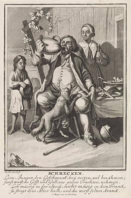 Taste, Caspar Luyken, Anonymous, Christoph Weigel Print by Caspar Luyken And Anonymous And Christoph Weigel