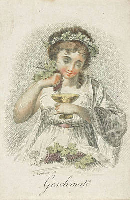 Taste, Ludwig Gottlieb Portman, Schiavonetti Print by Ludwig Gottlieb Portman And Schiavonetti