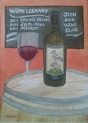 Tasting Room - Mattucci Original by M Carlen