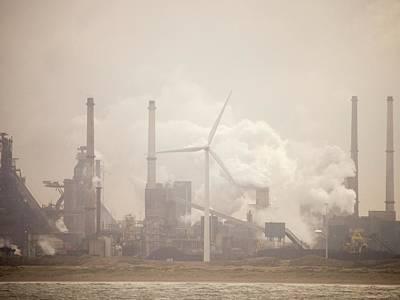 Tata Steel Works Print by Ashley Cooper