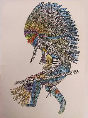 Tatangka Secret Dance Print by Lourents Oybur