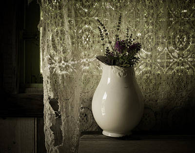 Old Pitcher Photograph - Tattered by Amy Weiss