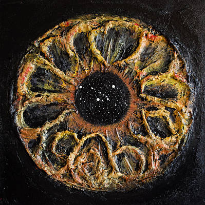 Constellations Painting - Taurus Eye Constellation by Presa Hall