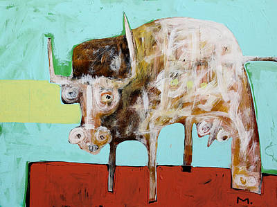 Painting - Taurus No 5 by Mark M  Mellon