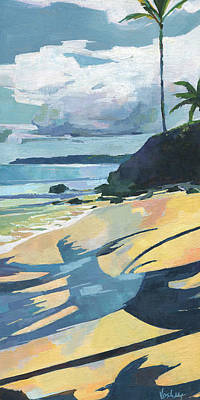 Haleiwa Painting - Tavares Beach by Stacy Vosberg
