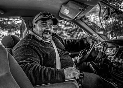 Industrial Photograph - Taxi Driver by Bob Orsillo