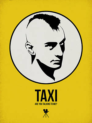Classic Film Star Mixed Media - Taxi Poster 1 by Naxart Studio