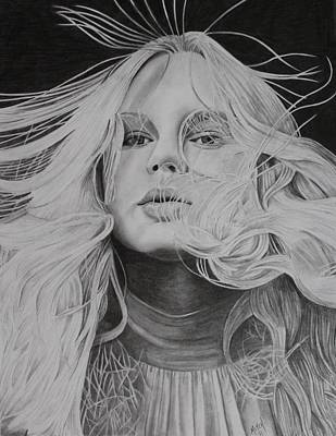 Taylor Swift Drawing - Taylor Swift by Randy Mitchell