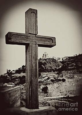Tbilisi Photograph - Tbilisi Cross by Emily Kay