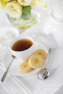 Tea And Cookies Print by Diane Diederich
