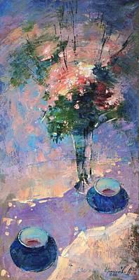 Tea Ceremony Print by Anastasija Kraineva