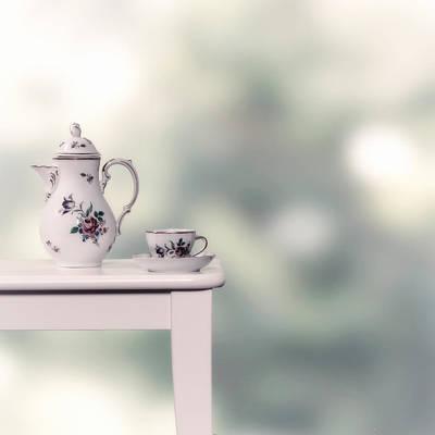 Tea Cup And Pot Print by Joana Kruse