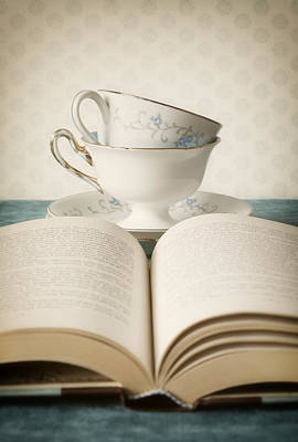 Tableware Photograph - Tea For Two by Amy Weiss