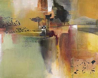 Ruins Mixed Media - Tea Garden by Asha Menghrajani
