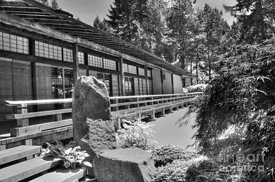 Tea Room Photograph - Tea Room At The Japanese Garden by David Bearden