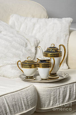 Tea Set Print by Amanda And Christopher Elwell